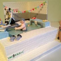zwembad tgv opening van het oefenbad