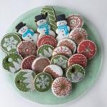 kerstboomkoekjes gingerbread